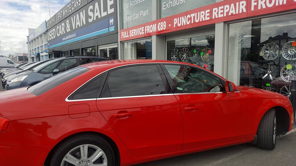 Audi A4 Full Car Tint Fitte