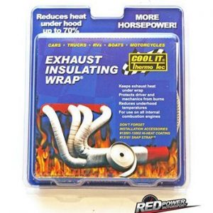 Exhaust, heat, wrap