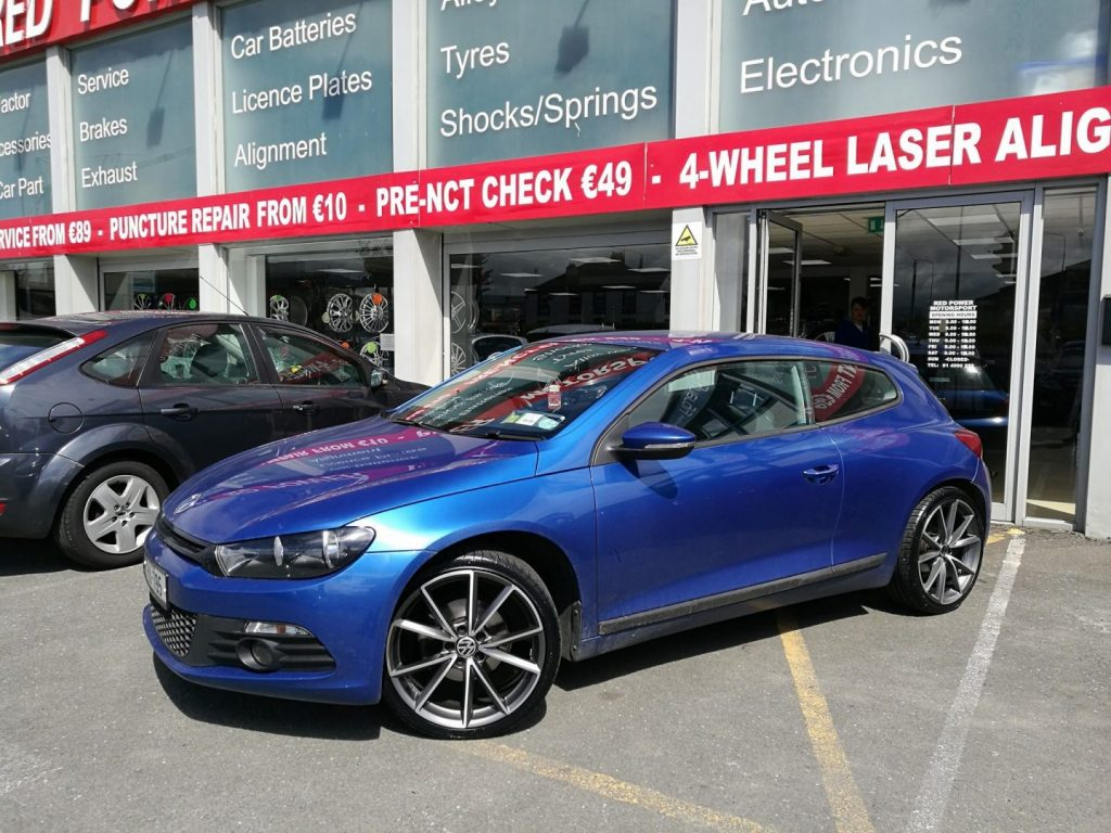 New 19 Wheels & Tyres fitted to this VW Scirocco
