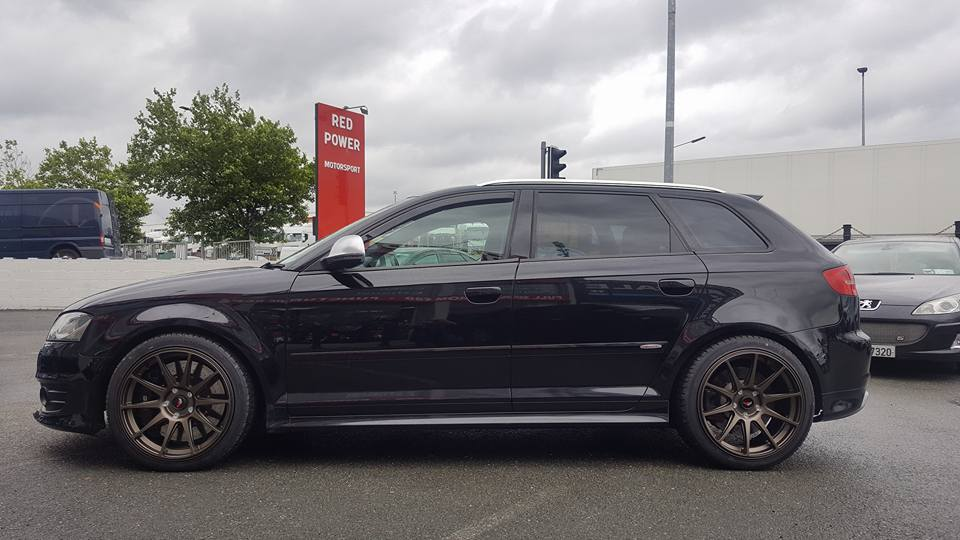 New Wheels & Tyres Fitted On Audi Rs3