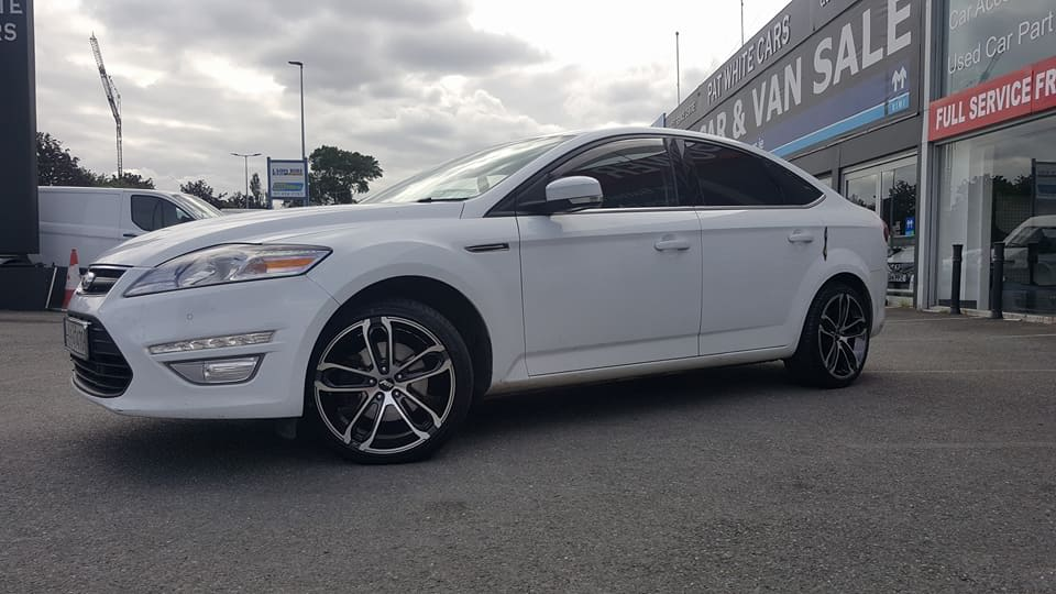 Rpm8034 18 Wheels & Tyres Supplied And Fitted On Ford Mondeo