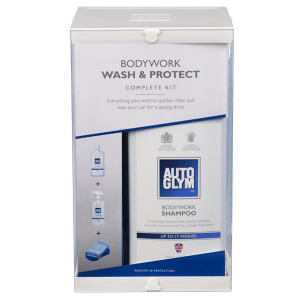 Auto glym bodywork wash and protect complete kit Image