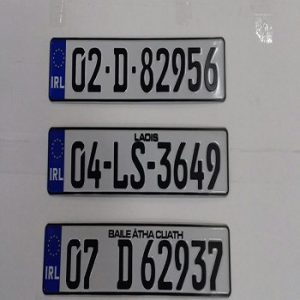 Reg Plates