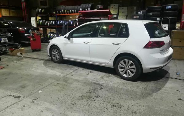 18″ Club sport Wheels & Tyres Fitted On Golf Mk7