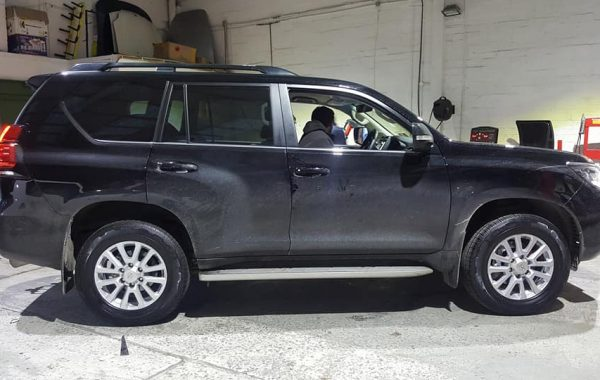 18″ Wheels & Tyres Fitted On 2018 Toyota Land Cruiser