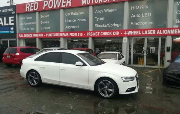 Audi S3 Wheels Fitted On a Audi a4. 18×8 with 245/40/18 tyres