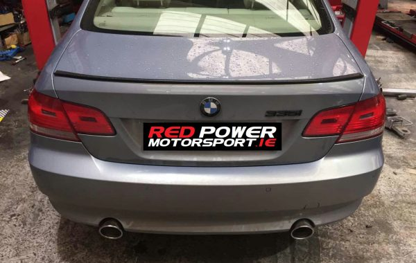 Exhaust Tips Fitted on E93 BMW
