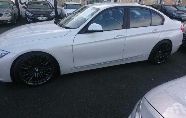 BMW Fitted With Cobra Lowering Springs And BMW Wheels