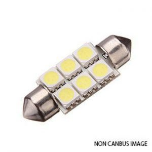 Festoon LED Bulb 42 mm white