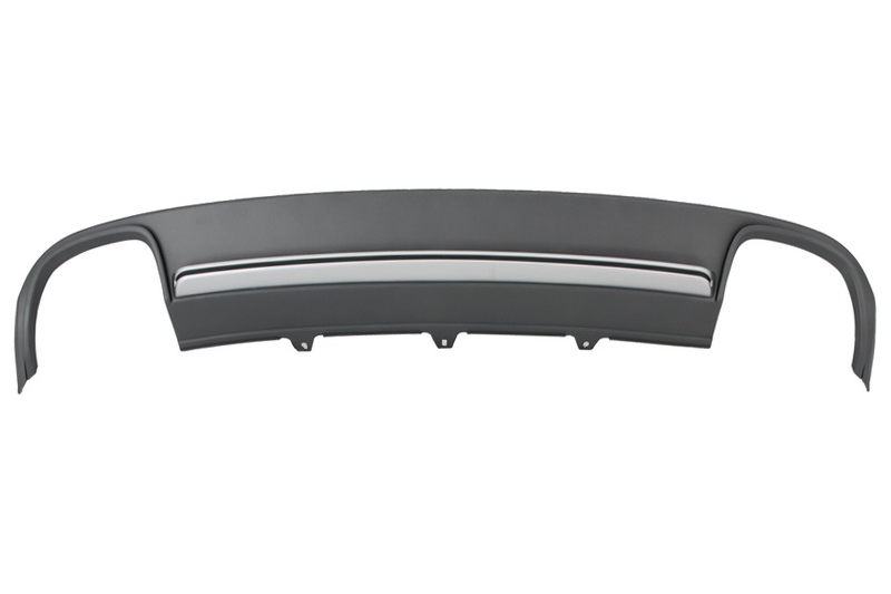 Rear Bumper Valance Air Diffuser Audi A4 B8 Red Power Motorsport