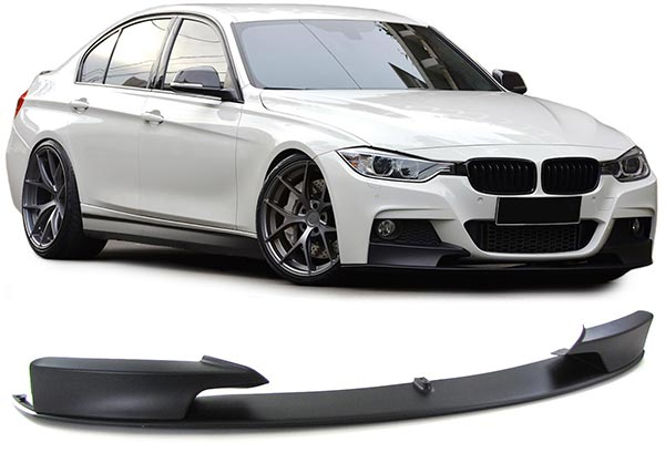 PACKAGE DEAL! BMW F30 M STYLE FRONT BUMPER + FOGS + M STYLE LIP KIT