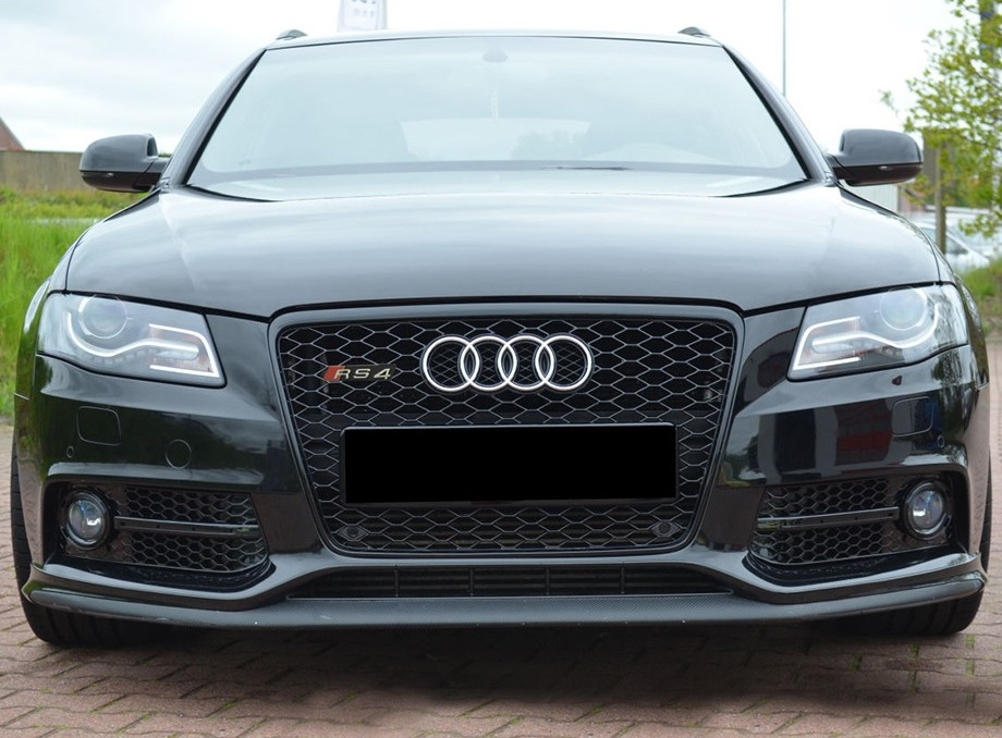 Audi Rs4s4 Style Grille B8 Red Power Motorsport